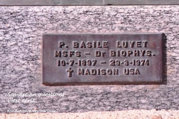 23_Chandolin, buste Basile Luyet