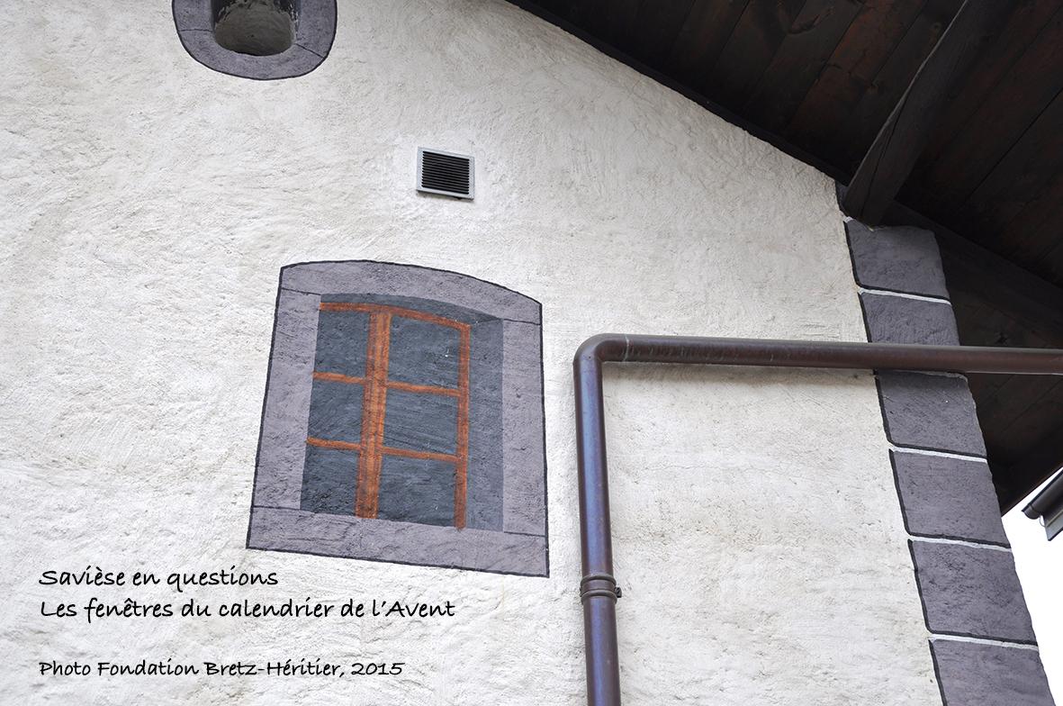Trompe l'œil, maison près de la Maison de la Culture (rond-point du Trontsé)