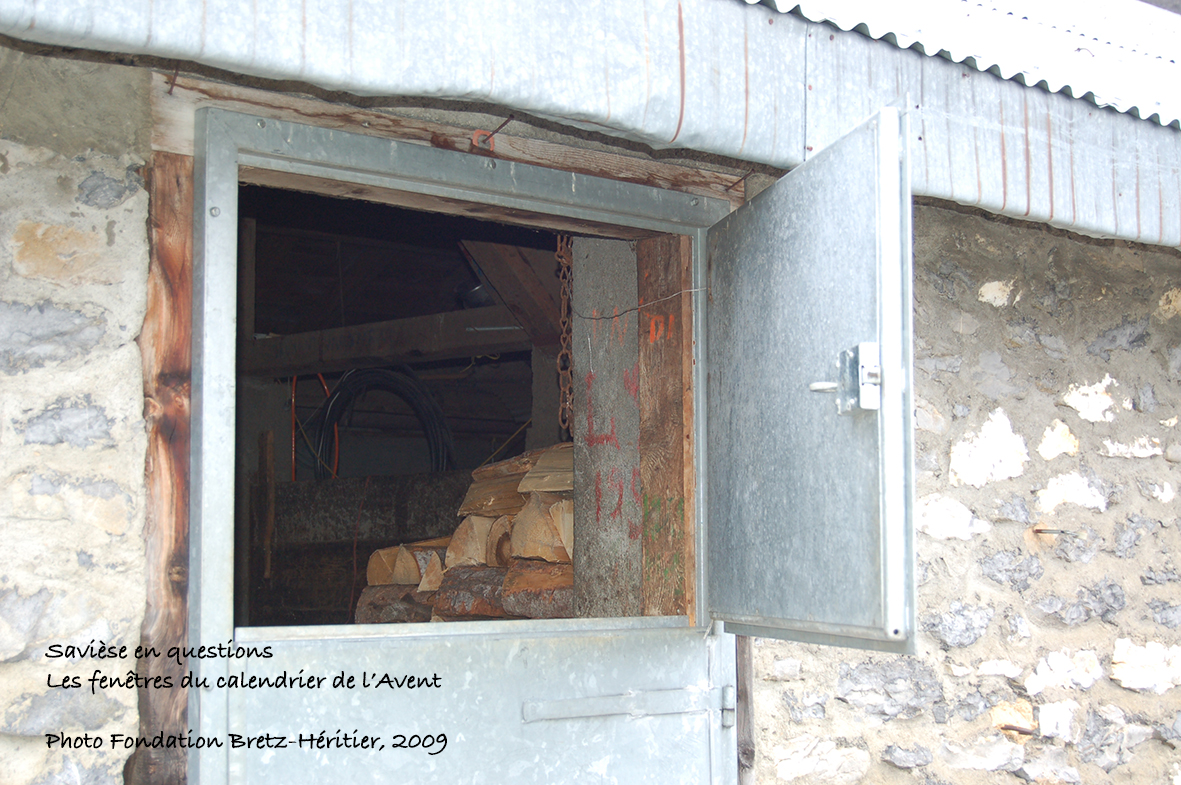 Alpage de Tsanfleuron, étable (chóta)