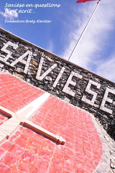 15_Rond-point de la Tsena, armoiries de Savièse