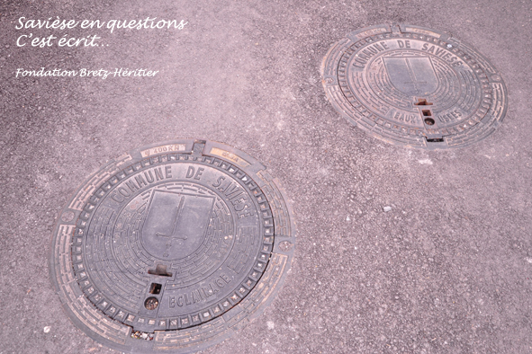 28_Granois, Rue du Mont, nouvelles fontes de voirie