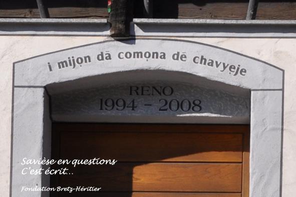 49_Roumaz, Maison de la Commune
