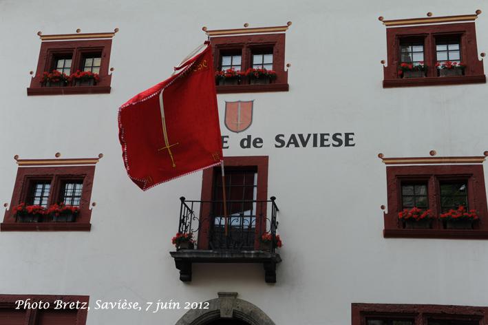 Façade de la Maison de Commune (1580)