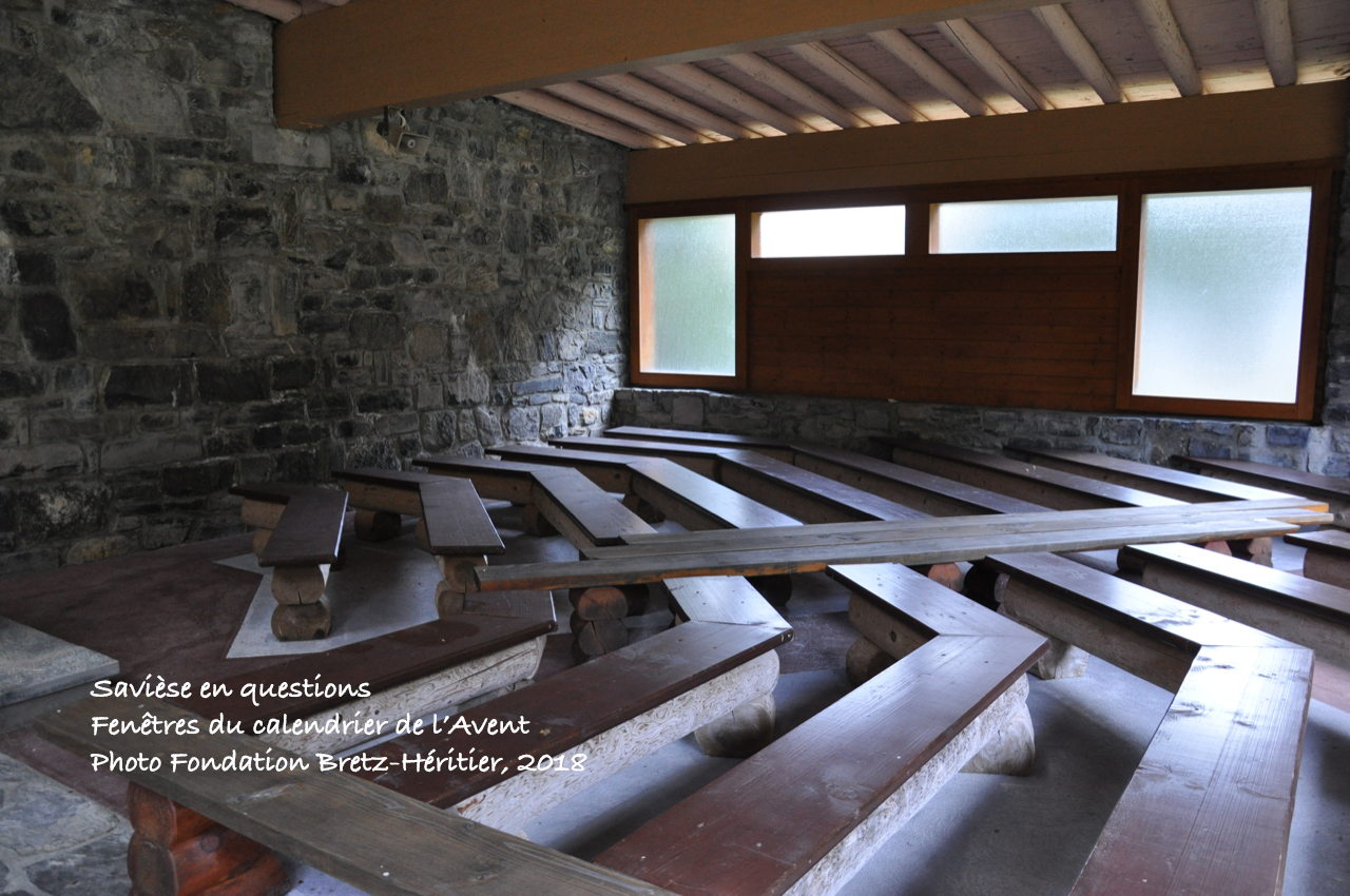 Chapelle de la Grand-Zour (vallée de la Morge)