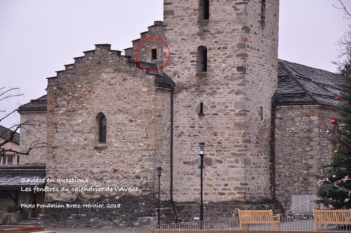 Fenêtre de la photo précédente (cercle rouge)
