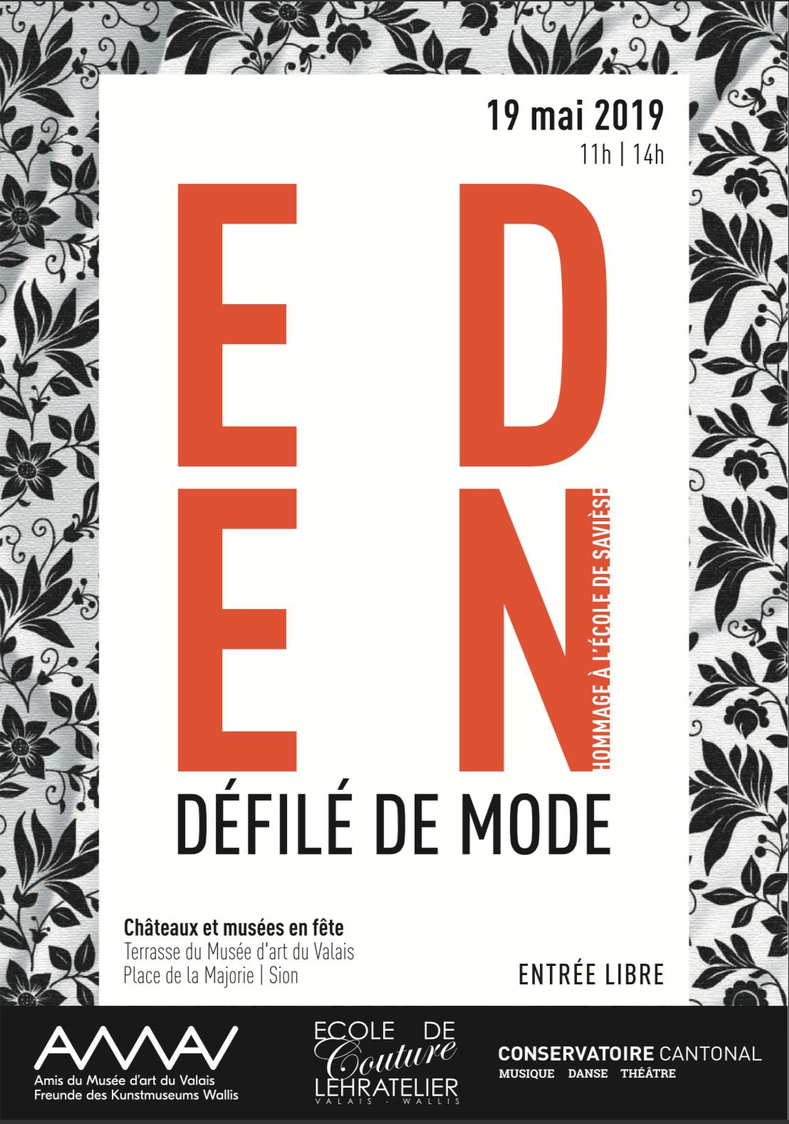 affiche_ecoledesaviese_defiledemode